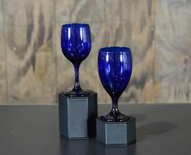Cobalt Glassware