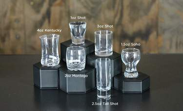 Montego Shot Glass 2.5oz