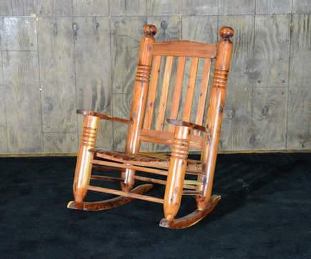 Cedar Post Rocking Chair