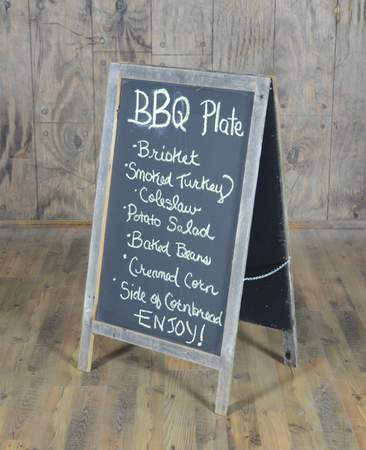 Chalkboard Sandwich Board Large