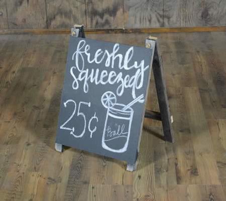 Chalkboard Sandwich Board Small