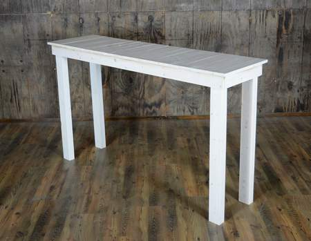White Pallet Community Table