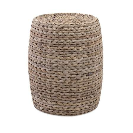 Banana Leaf Natural Pouf