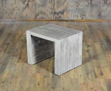 Driftwood Vineyard Side Table