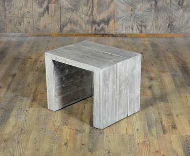Driftwood Vineyard Side Table