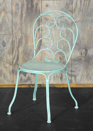 Patio Green Metal Chair