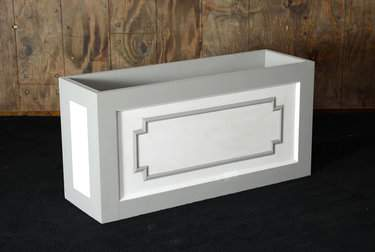Flower Box Grey & White
