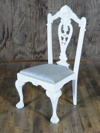 Mismatch White Collection - Chair w/out Arms