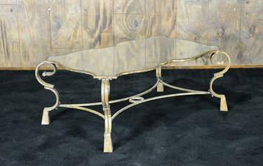 Vintage Mirror Coffee Table