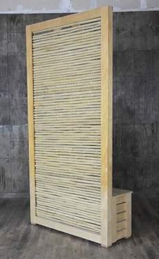 Bamboo Divider Wall