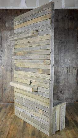 Vintage Pallet Wood Divider Wall Drapery D 233 Cor Rentals