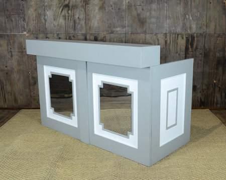 Classic Grey Mirrored Bar 6'