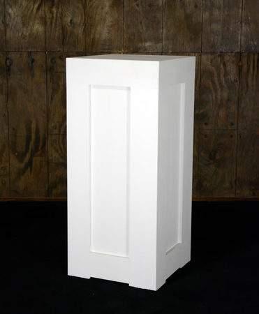 Shaker White Column
