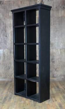 Black Cube Shelf Bar Back