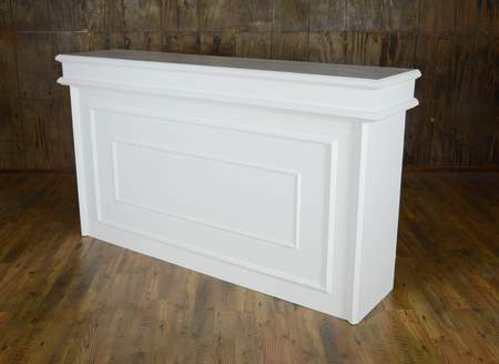 White Facade Bar 6'