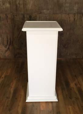 Formal White Column