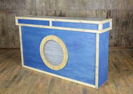Nautical Facade Bar 6'