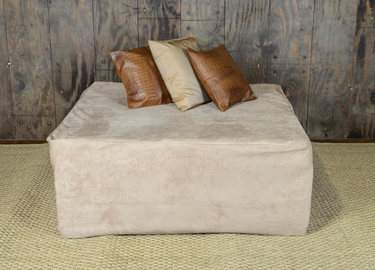 4'x4' Upholstered Ottoman