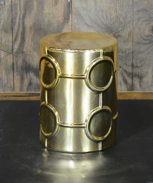 Gatsby Gold Side Table
