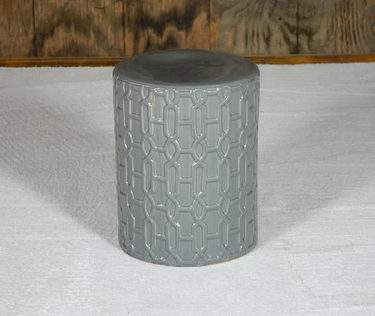 Hollywood Grey Side Table
