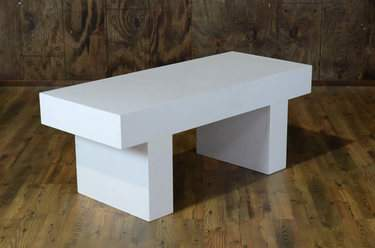 Sarsen White Coffee Table