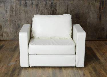 Lovesac White Lounge - White Chair