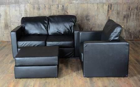 Lovesac Black Lounge