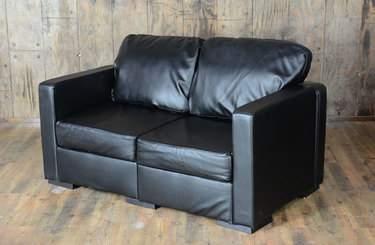 Lovesac Black Lounge - Black Loveseat