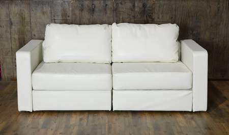 Lovesac White Lounge   White Couch