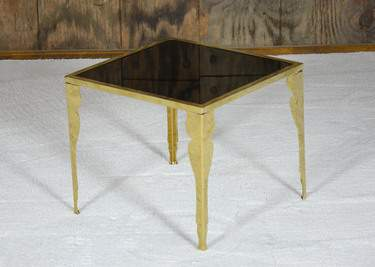 Astaire Gold Side Table