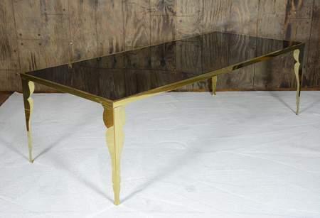 Bogart Gold Dining Table