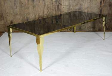 Bogart Gold Dining Table