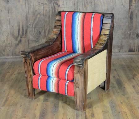 Serape Side Chair