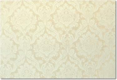 Ivory Velvet Damask