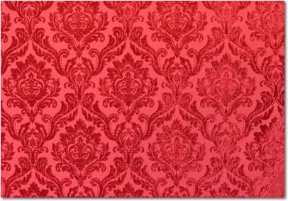 Crimson Velvet Damask 132 Quot Round Linen Rentals