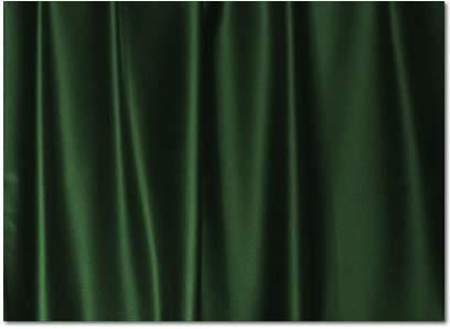 Hunter Green Crepe Satin - Sash