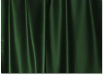 "Hunter Green Crepe Satin - 90""x132"" Drape"