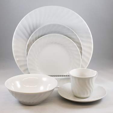 Imperial White Plate