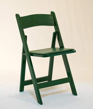 Wood Green Folding Chair