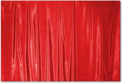 "Scarlet Bengaline - 85"" square"