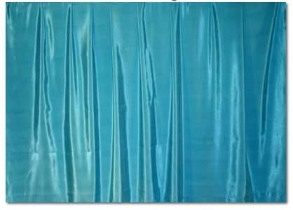 "Grotto Blue Bengaline - 90""x156"" drape"