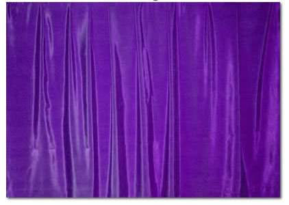 "Purple Bengaline - 85"" square"