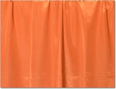 "Pumpkin Bengaline - 90""x156"" drape"