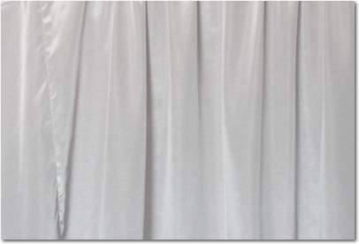 "Silver Bengaline - 90""x156"" drape"
