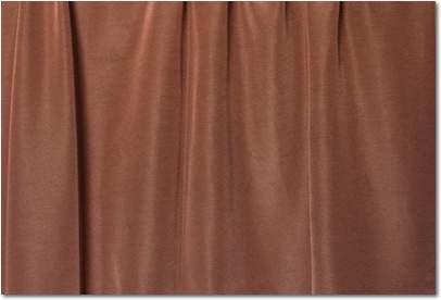 "Toffee Bengaline - 90""x156"" drape"