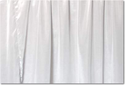 """White Bengaline - 90""""x156"""" drape"""