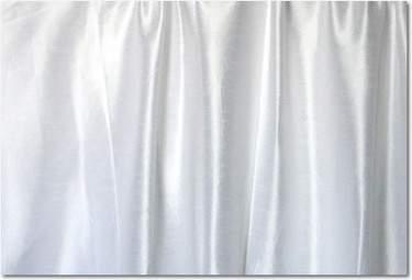 White Dupioni