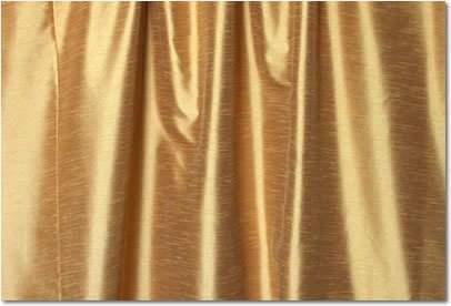 """Antique Gold Dupioni - 120"""" Round"""
