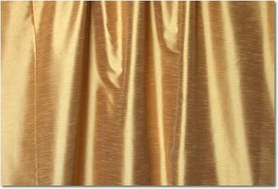 "Antique Gold Dupioni - 90""x156"" Drape"