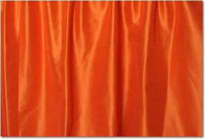 Tangerine Dupioni